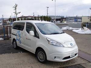 電気自動車(EV車)納車