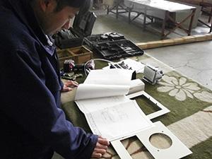 配電盤の製作工事
